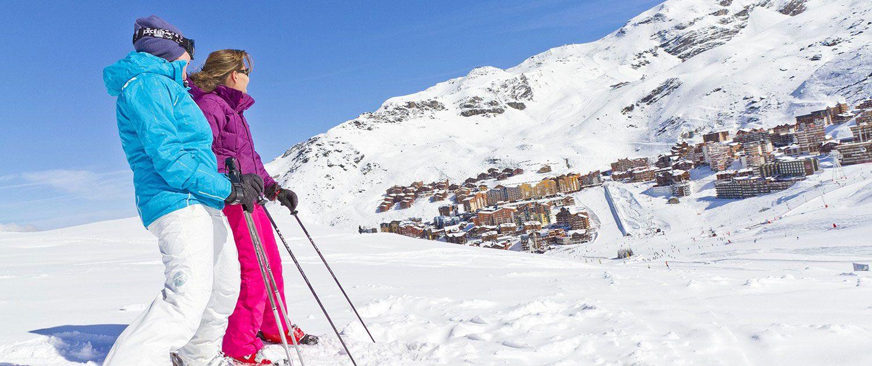 Station de ski de Val thorens - Domaine skiable des 3 Vallées