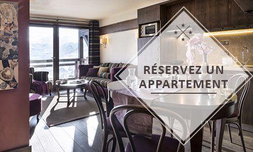Réserver un appartement au Hameau du Kashmir