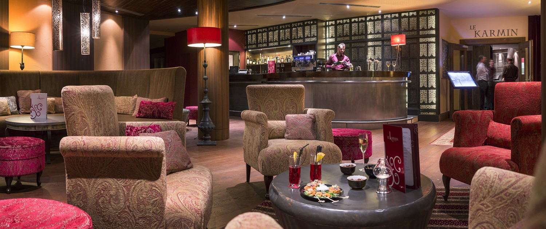 Bar Lounge - Le Hameau du Kashmir