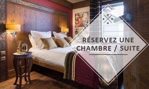 Réserver une suite à l'hôtel Le Hameau du Kashmir